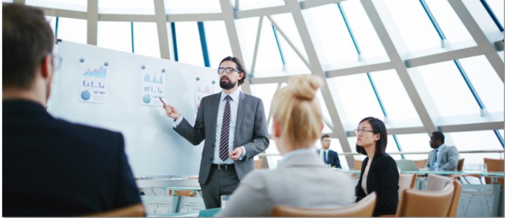 Businessplan für einen Bestandskauf oder Finanzierung von einem Maklerunternehmen.